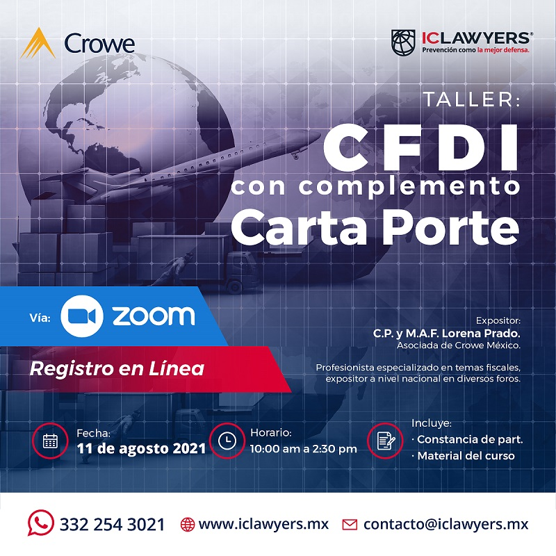 CFDI con complemento Carta Porte